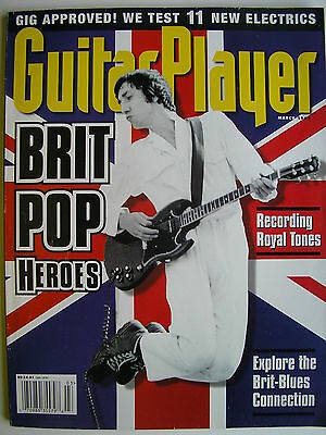 PETE TOWNSHEND - BRIT POP HEROES  March 1998 GUITAR PLAYER