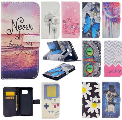 IIDA Phone Case for Samsung S7 edge A3 A5 A7 J5 J7 2016 PU Leather Stand Cover