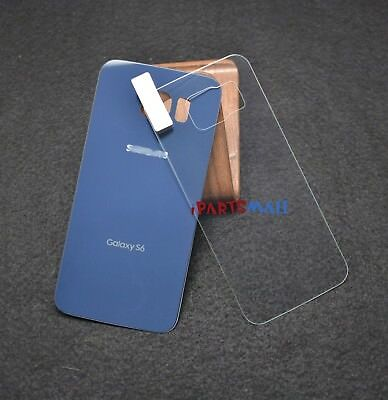 A+ Rear Panel Battery Cover+Rear Tempered Glass Protector for S6 T-Mobile G920T