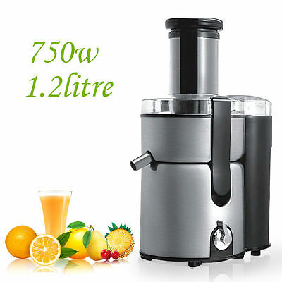 Stainless Steel Whole Fruit & Vegetable Juicer Machine Juice Extractor Fountain