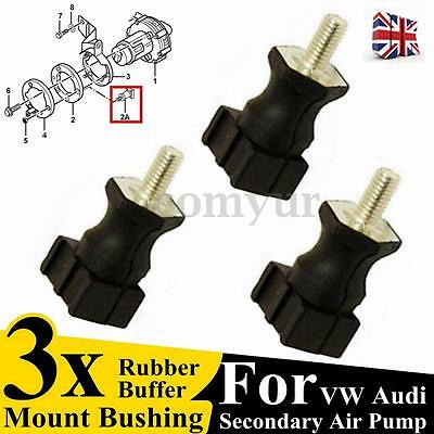 3x Secondary Air Pump Mount Bushing For VW Jetta Golf Passat Audi 06A133567A -UK