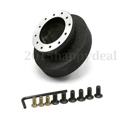 Snap Off Steering Wheel Racing Quick Release Hub Adapter Boss Kit Fits BMW E36