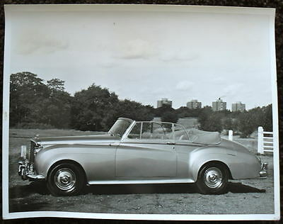 Bentley S2 Drophead Coupe With Bodywork Press Photograph Black & White 1931
