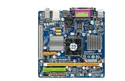 replacement Jetway NC63P-330-LF Motherboard Mini ITX Intel ATOM 330 Sata 2GB