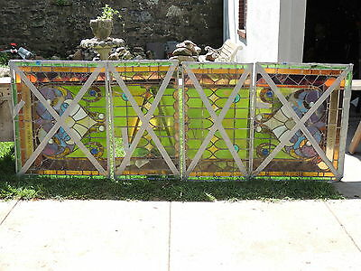 21  Stained Glass Windows, need full restoration, WITH REVISED PICS.