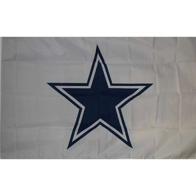DALLAS COWBOYS 3' x 5' OFFICIAL NFL Premium Flag W/Grommets Banner 1-SIDED