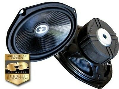 "CDT Audio HD-690CF 6"" X 9""  Carbon Fiber Subwoofer Pair (2)"