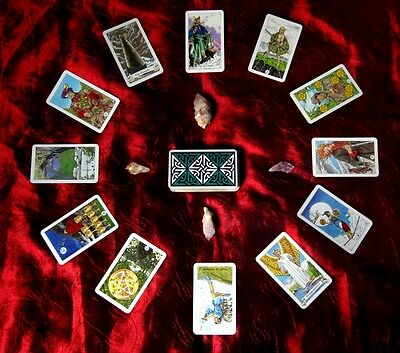 Tarot Card Scans and eBook Guides to Reading Tarot Cards