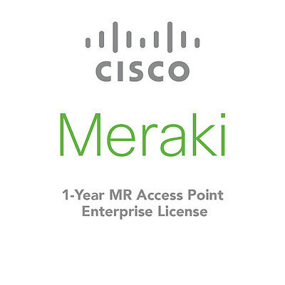 Cisco Meraki 1Yr 1Ap Ent Cloud Controller Lic-Ent-1Yr Mr Series Mr66 Mr34 Mr24