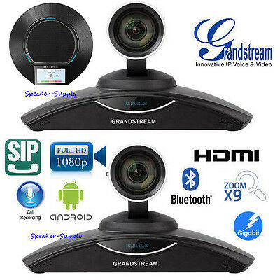 MAKE OFFER 2 Pack Grandstream GVC3202 1080p HD Video Conference System Bluetooth