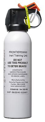 Frontiersman Practice Bear Spray (225 g) - Maximum Range - 9 Meters CFBAD-00