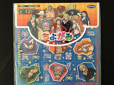 One Piece Origami Paper 15 x 15cm 16 pieces. Japanese origami/chiyogami paper