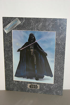 """1994/5 Star Wars ChromArt """"Darth Vader"""" and """"Yoda"""" Movie Posters with COA"""