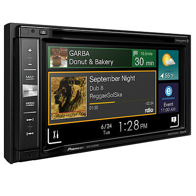 Pioneer AVIC-5200NEX Double 2 DIN DVD/CD Player GPS Bluetooth AVICSYNC CarPlay