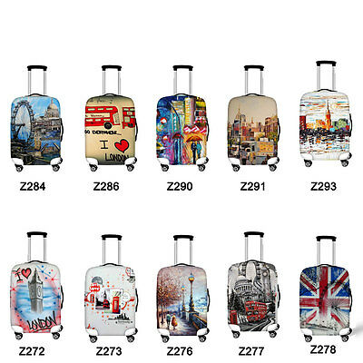 Dust-proof Elastic Travel Spandex Luggage Cover Suitcase Protector 18-30 inches
