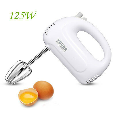 7 Speed Electric Hand Stand Mixer Whipper/Strip Beater Food Powerful Appliances