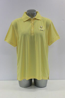 New With Tags Womens Sporte Leisure Sportec Golf Polo Shirt With In Yellow