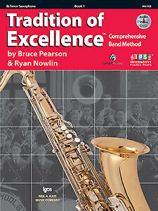 Pearson & Nowlin: Tradition of Excellence Book 1 Tenor Sax - Kjos W61XB New