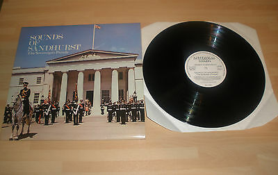 "Sounds Of Sandhurst 12"" Vinyl Album Lp The Sovereigns's Parade Military Band Ex"""