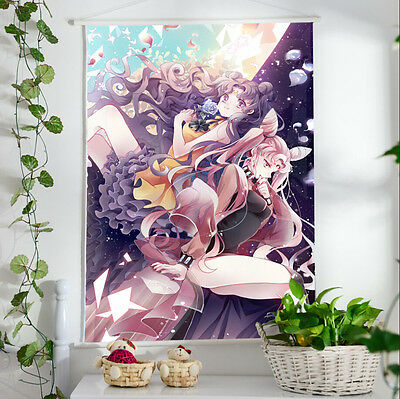 Sailor Moon Romantic Poster Wall Painting Murals Scroll Painting 60*40