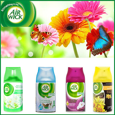1,2,3 Airwick Freshmatic 250ML Spray Fragrance Home Office Air Fresheners Refill