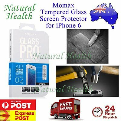 """Momax Glass Pro+ 9H Tempered Glass Screen Protector for Apple iPhone 6 4.7 4.7"""""""