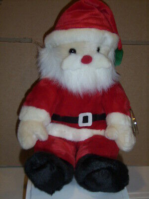 Retired Ty Beanie Buddy Santa Mint With Tags