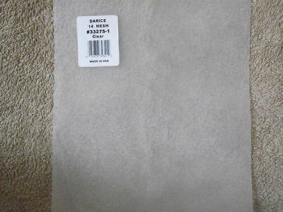 "Darice 14 count Plastic Canvas 8.25"" x 11"" - Choice of 1 2 5 9 12 18 Sheets"