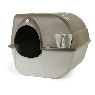 Omega Paw Roll N Clean Cat Kitty Self Cleaning Litter Box Large
