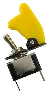AeroFlow Yellow Covered Rocket / Missile Switch 12v 20A