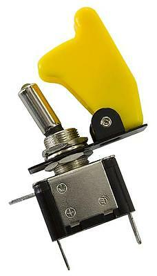 AeroFlow Yellow Covered LED Rocket / Missile Switch 12v 20A