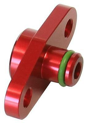 AeroFlow Fuel Rail Adapter (Red) Suit Subaru, for Nissan, Mazda with 32.5mm Cent