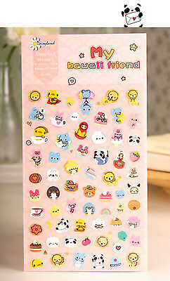 1 sheet kawaii friend Filofax notebook diary Planners paper Decoration stickers