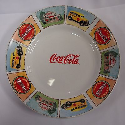 Coca Cola Advertising Plate By Gibson