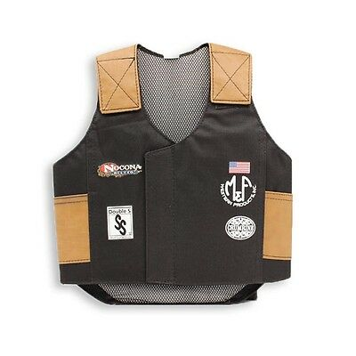 Kids Mutton Bustin Vest Calf Bull Riding Cowboy Nocona Pro Rodeo - Medium
