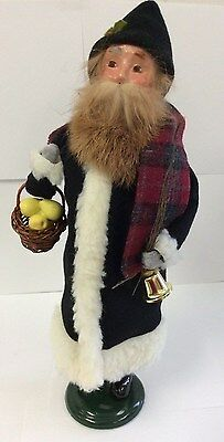 Byers Choice 2013 Belsnickel Santa in Black #335 Santa Collection