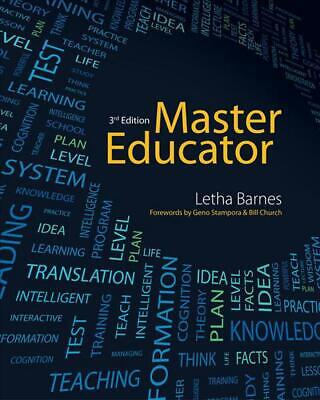 Master Educator: Student Course Book by Letha Barnes (English) Paperback Book Fr