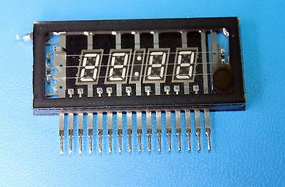 FUTABA 4-BT-03Z 4 Digit 7-Segment Vacuum Fluorescent Display New