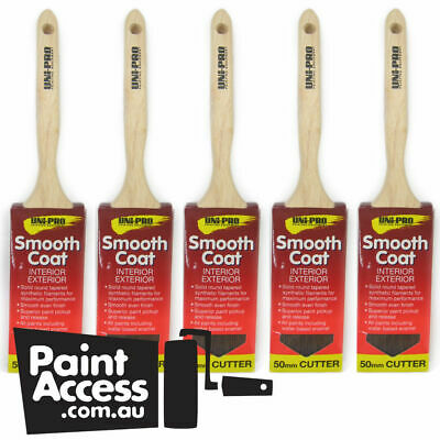 Paint Brushes Synthetic Sash Cutter 50 mm - Pack of 5
