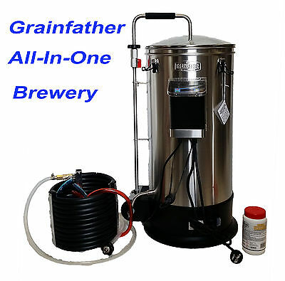 Grainfather Stainless Steel Semi-Automatic All Grain Brewery Homebrew Mash Tun