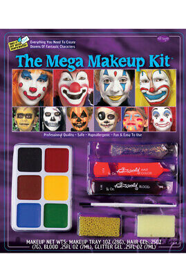 The Mega Make-Up Kit Halloween Costume Accessory