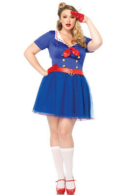 Ahoy There Honey Plus Size Costume