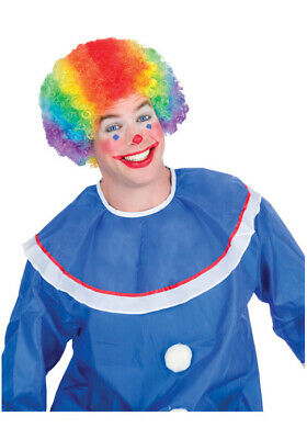 Circus Clown Colorkolon Rainbow Costume Wig