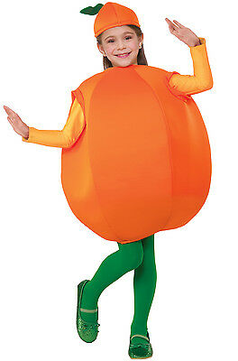 Orange Fruit Child Costume