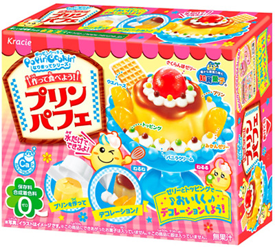 KRACIE POPIN COOKIN PUDDING PARFAIT KIT. DIY Japanese Candy Happy Kitchen Poppin