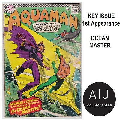 Aquaman #29 (/ DC /) GD - GD+! HIGH RES SCANS! 1st Ocean Master!