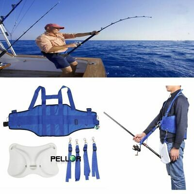 Pellor Offshore Fighting Fishing Belt Harness for Fishing Rod Holder Pole Bracke