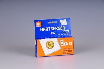 Self-Adhesive Coin Holders - Hartberger  39.5mm, 25 PCS FREE SHIPPING