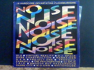 NOISE   Hardcore Floorburners  VARIOUS  DBL LP    Lovely copy !!
