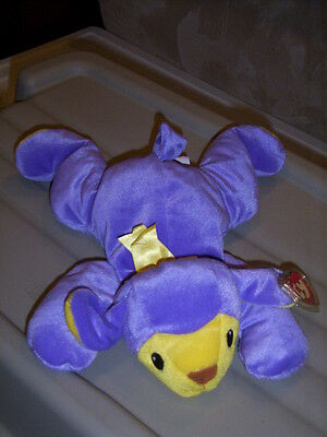 RETIRED TY PILLOW PALS BABA THE PURPLE LAMB MINT with TAGS